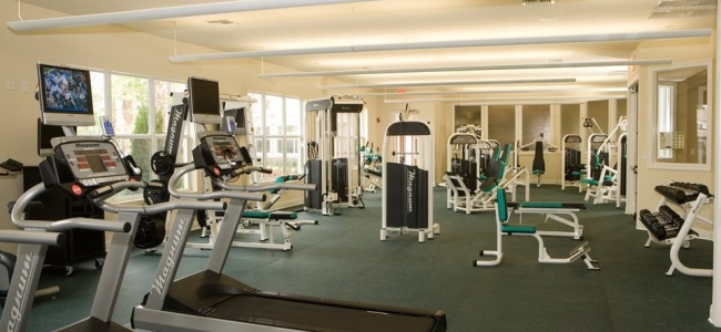 Orlando-Florida-Del-Webb-BellaTrae-at-ChampionsGate-Community-Fitness-Facility